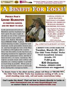Benefit for Locke